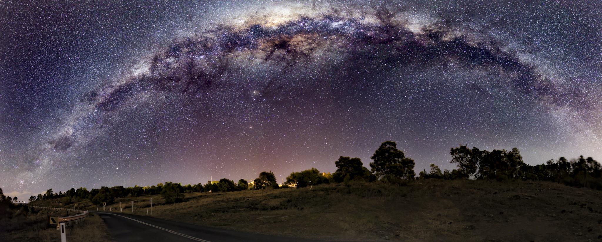 Milky Way, Mount Stromlo