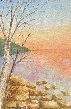 Liltie Series: Big Lake Sunrise