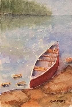 Lilties Series: Red Canoe