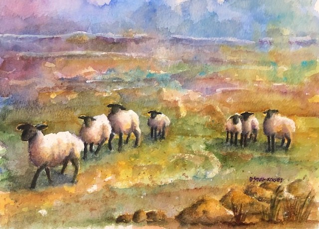 Bogland Sheep