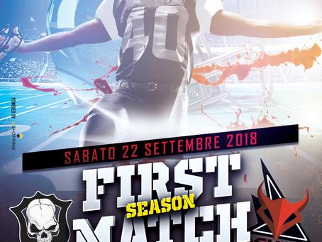 La nuova Season Comincia con un Derby Tutto Emiliano Romagnolo Good Ol'Boys Bologna VS Devils Mo