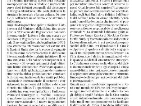 """Copia di Copia di SI PUO' ACCUSARE LA CINA DI """"NEGLIGENZA CRIMINALE """" e il Governo Italiano come si"""
