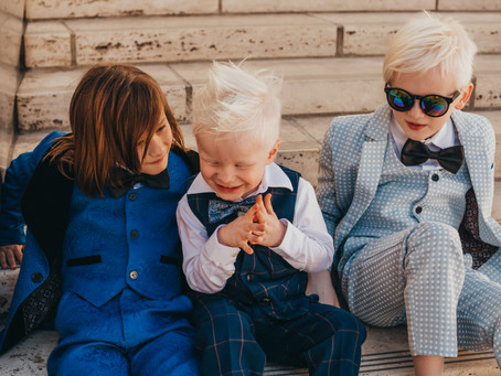 Brotherly Love: Albinism by Patricia Williams