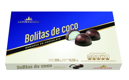 Bolitas de coco 300 gr.