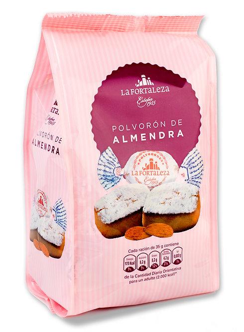 Polvorones de Almendra 8% bolsa 500 gr.