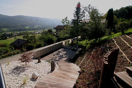 Terrasse nach Mass