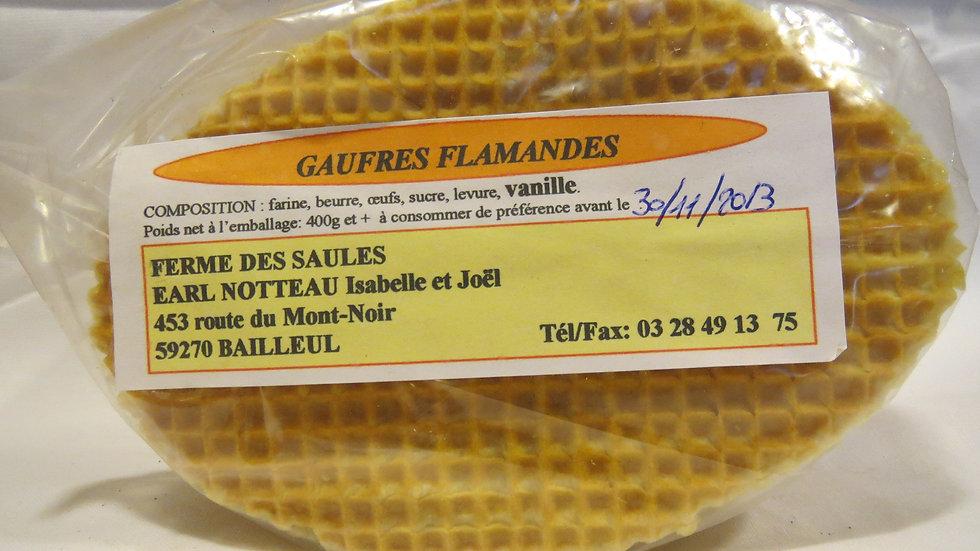 Gaufres Vanille