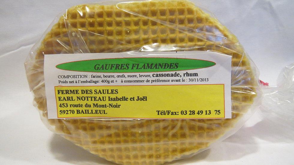 Gaufres Cassonade Rhum