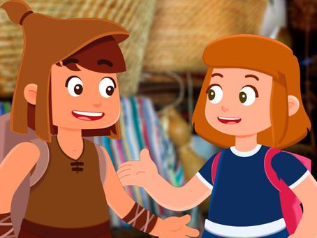 Presentación de los dibujos animados 'Sara y Darmo y los oficios artesanos'