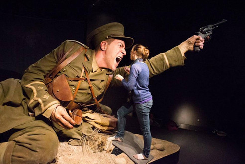 """Te Papa's """"Gallipoli - The Scale of Our War"""" Exhibition."""