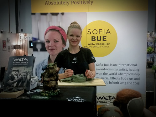 Sculpting Demonstration in collaboration with Absolutely Positively Wellington, and Weta Workshop.