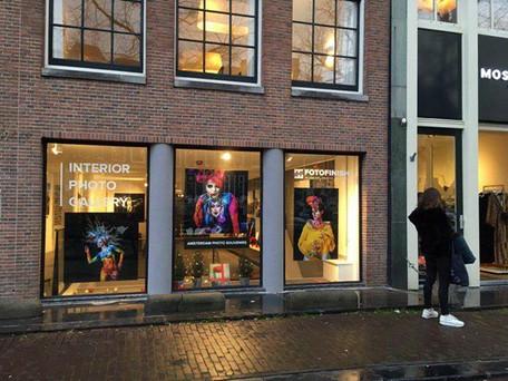 Exhibtiion at FOTOFINISH Gallery, Amsterdam NE, 2018