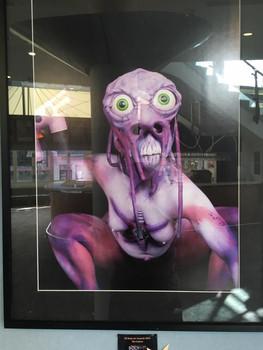 Body Art Group Exhibition, Bruce Mason Centre, Auckland NZ