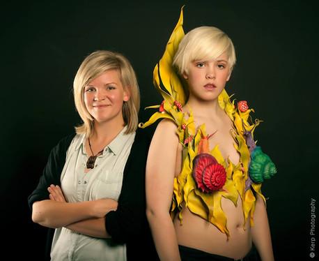 """World of Wearable Arts. Finalist in """"Bizarre Bras"""" 2014."""