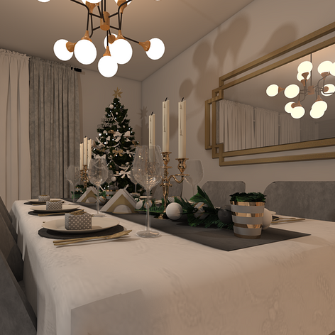 HOW TO STYLE YOUR DINING TABLE FOR CHRISTMAS DINNER?