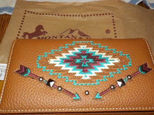 Montana West Aztec collection wallet