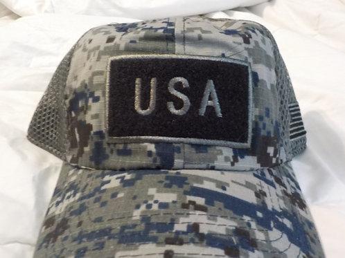 Camo Hook & loop Hat