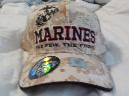 Marines, Desert camo cap