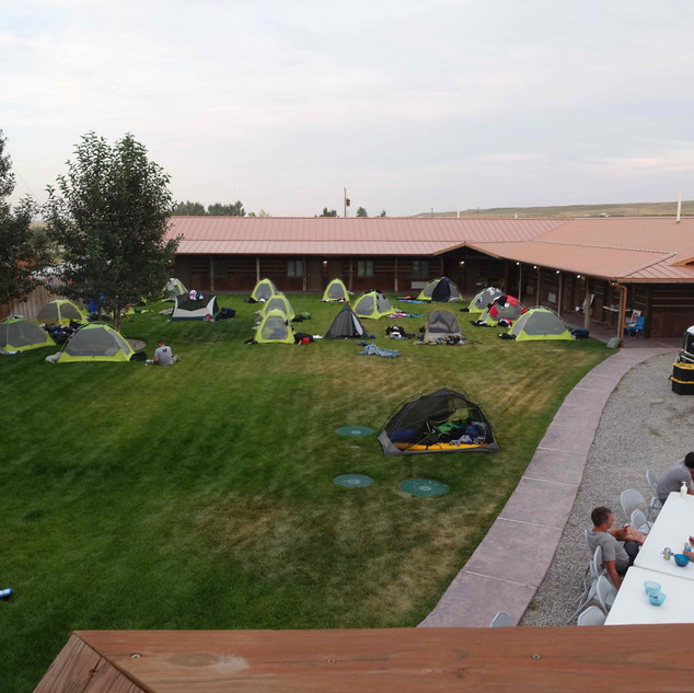 Bikers Camping out on our Lawn - 1  (1).