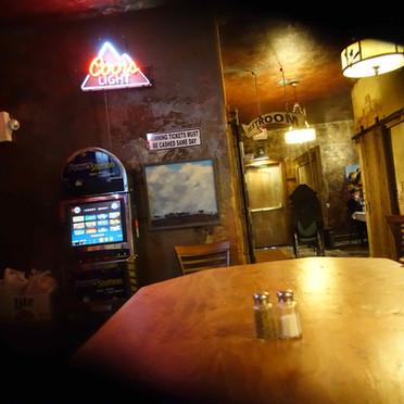 Bar looking east towards Bathrooms -  1.