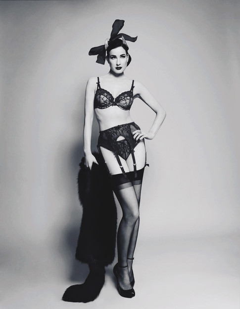 Carmen's Playboy photo-shoot