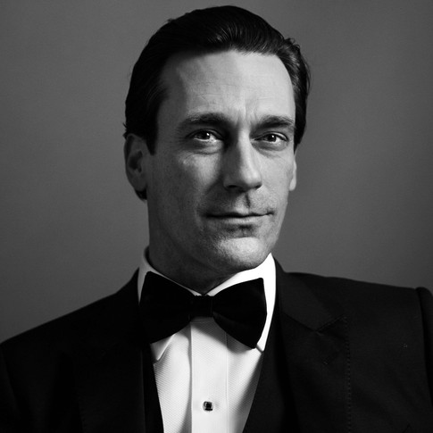No, your eyes aren't fooling you. This is indeed Jon Hamm in his Mad Men get-up.