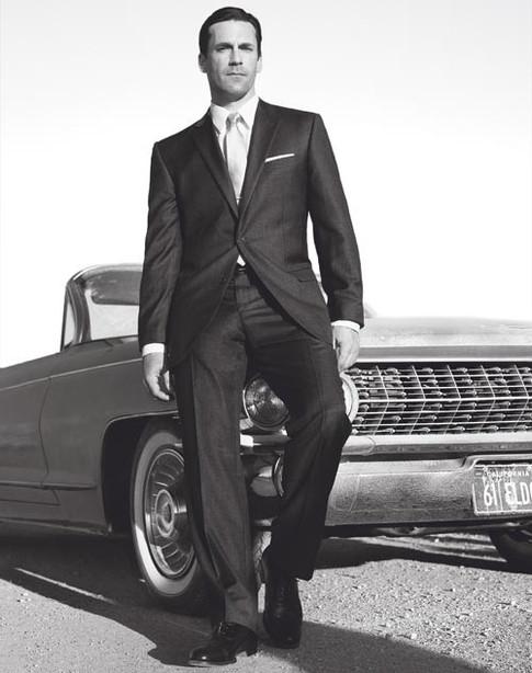 Harvey as played by Jon Hamm