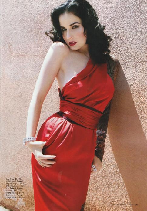 Carmen in Red