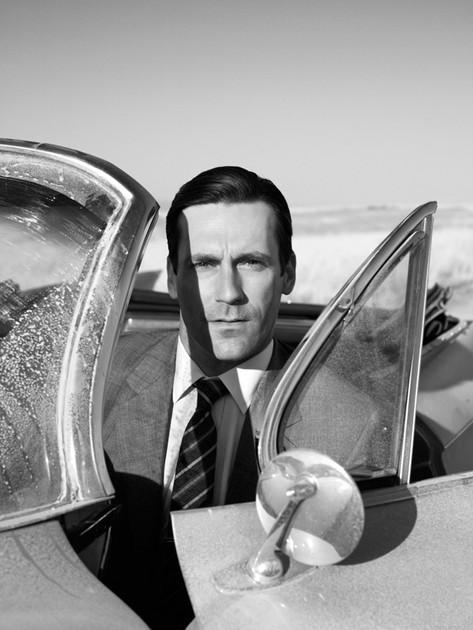 Just Harvey bein' like James Bond.