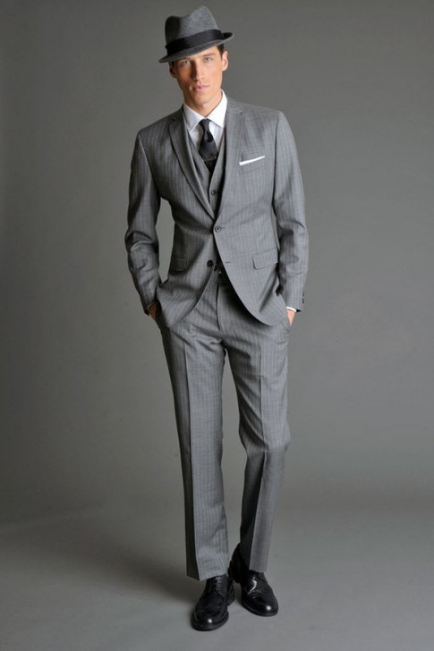 What Eugene would wear as a sharp-dressed gangster