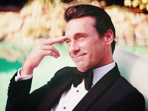 Mr. Bond-like contemplation