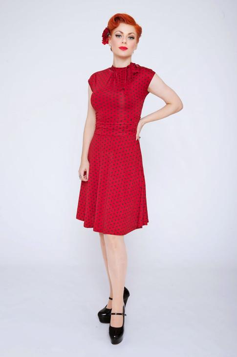 Lisette in red