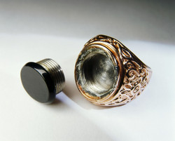 Concealment Ring for Microdots