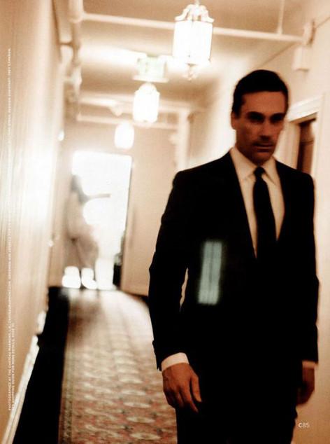 Harvey in the casino hallway