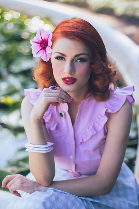 Model: Greta Macabre