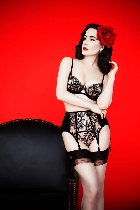 Model: Dita von Teese