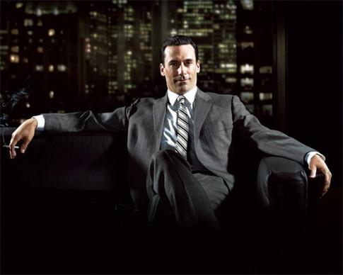 "Harvey's ""I just got promoted!"" pose"