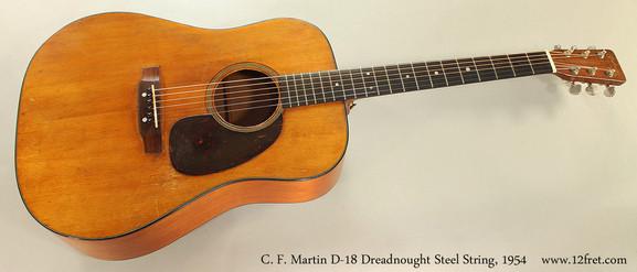 C. F. Martin D-18 Dreadnought Steel String Guitar