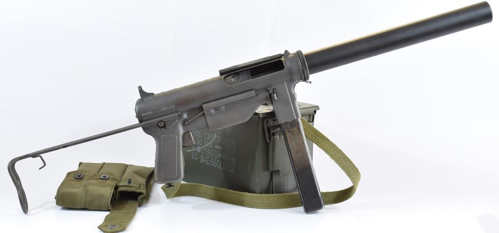 "M3A1 Suppresed ""Grease Gun"""