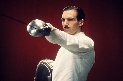 Vinz during his university fencing days
