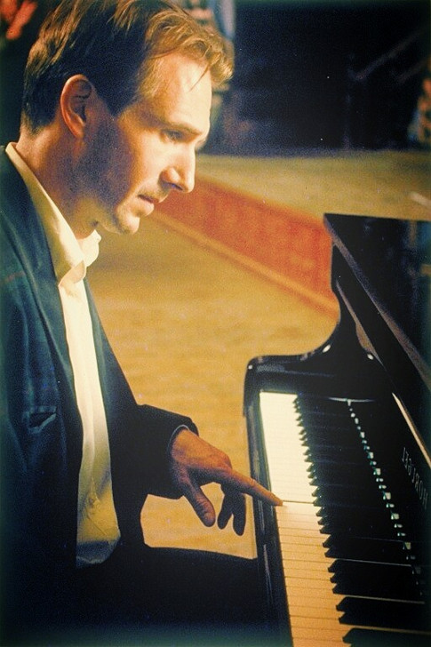 Vinz at the piano