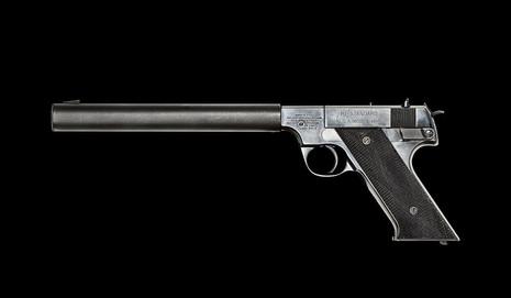 Hi-Standard HDM .22 Silenced Pistol