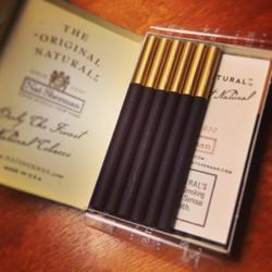 Nat Sherman Black & Gold
