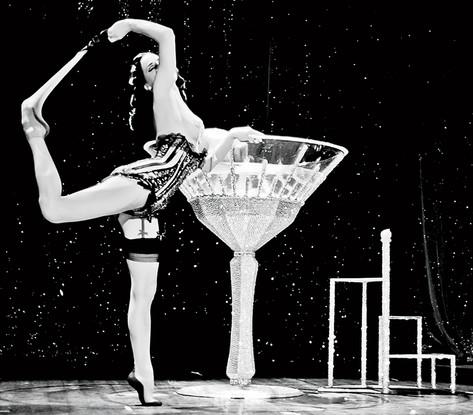 Carmen's Martini glass cat