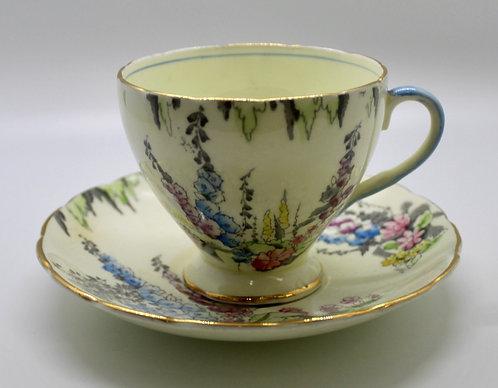 Foxglove Foley Teacup Candle