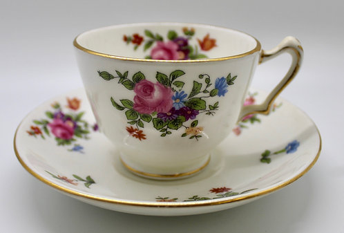 Wild Flowers Teacup Candle
