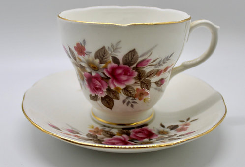 Summer Blooms Teacup Candle