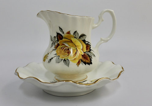 Royal Dover Creamer and Saucer