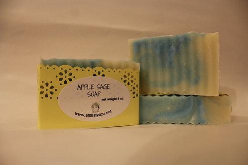 Apple Sage Soap