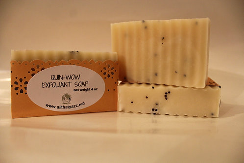 Quin-Wow Exfoliant Soap